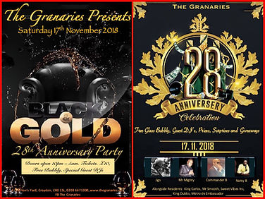 The Granaries Flyer
