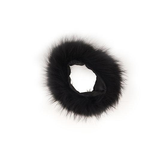 Black Fur Cuff