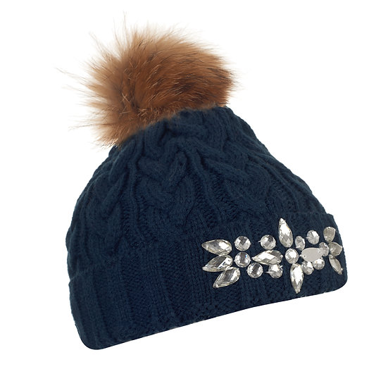 Beanie Bobble With Bling