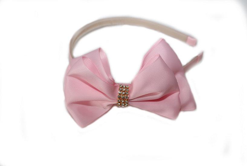 Baby Pink Satin Headband