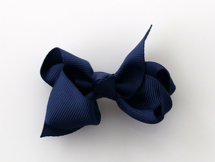 BTZ01 Classic Boutique Bow 370 Navy (12)
