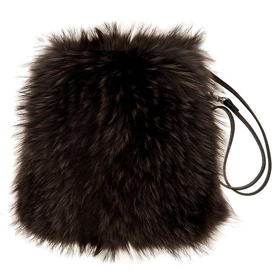 Brown Fur Bag