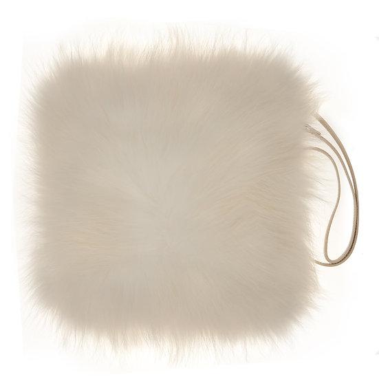 Cream Fur Bag