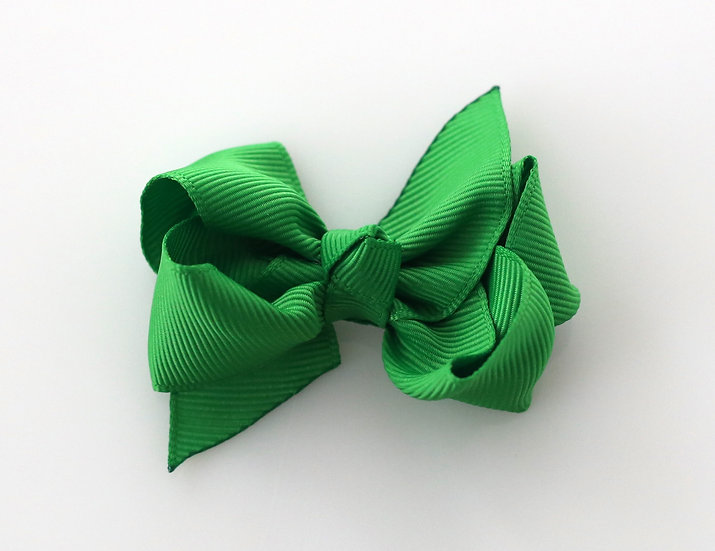 Grosgrain Bow With Integral  Clip