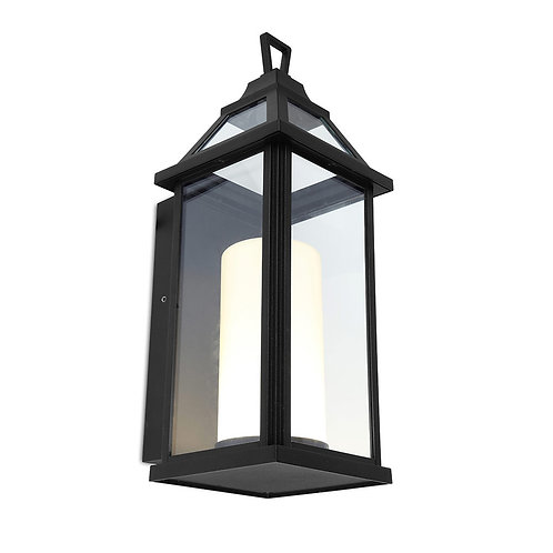 Hom Led Wall Light Black 16W
