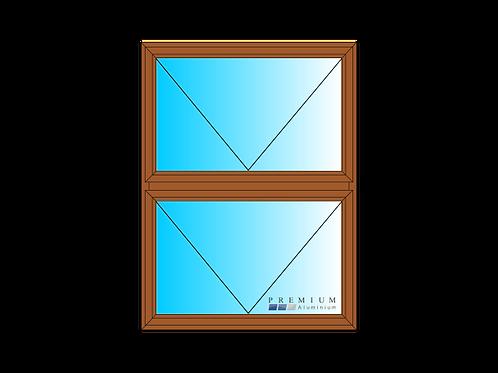 PTT912 Aluminium Window Bronze 890 x 1190