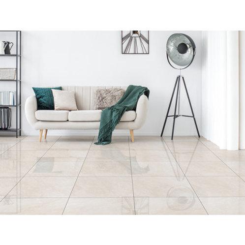 600 x 600 Destiny Ivory Floor Tile per m2