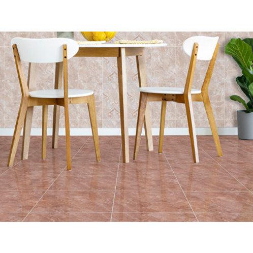 350 x 350 Malika Rust Floor Tile per m2
