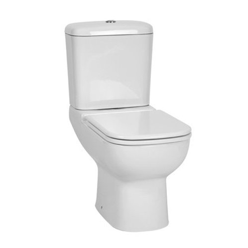 Toilet Set Top Flush Mirage White