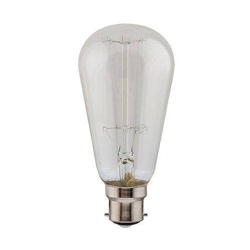 CB Filament Pear-shape B22 40w