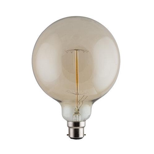 CB Amber Filament Maxi Globe B22 60w