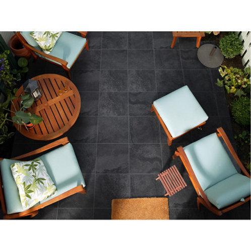 350 x 350 Mabula Charcoal Slip Resistant per m2