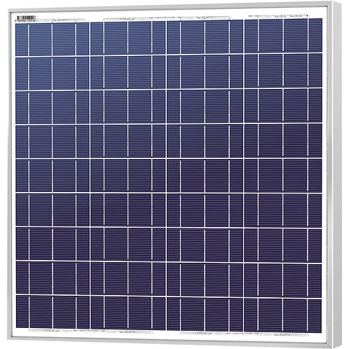 50WP PLOYCRYSTALLINE SILICON SOLAR MODULE