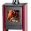 Thumbnail: Bosca Gold Burgandy 380 Closed Combustion Fireplace