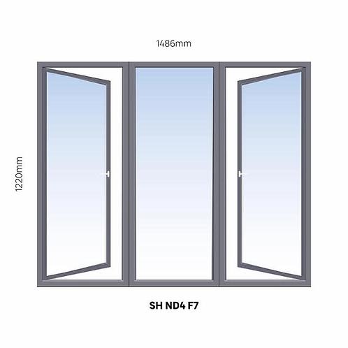 ND4 steel windows