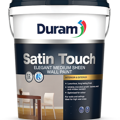 DURAM SATIN TOUCH 20LT - ATRIUM WHITE