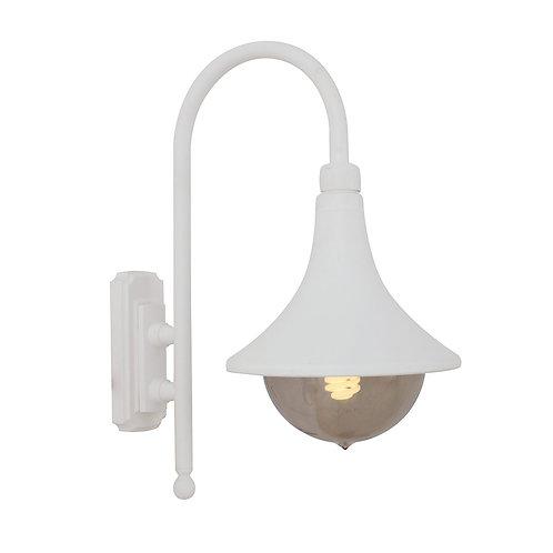Cornet Lantern D/Facing E27 Wht