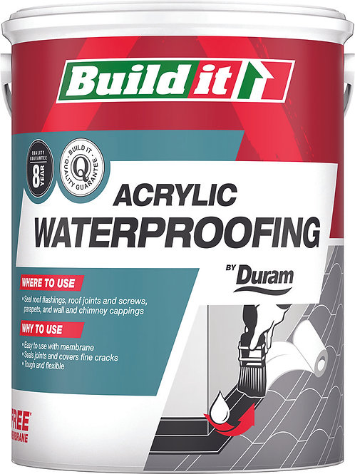 BUILD IT WATERPROOFING BLACK 1L