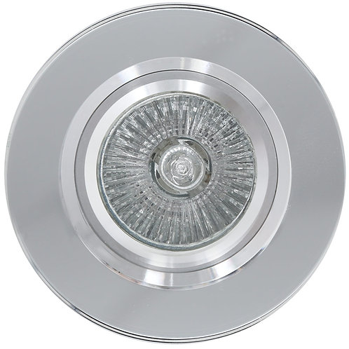 Mirror Face Round D/Light 89mm Alum.