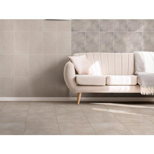 430 x 430 Hudson ivory Floor Tile per m2
