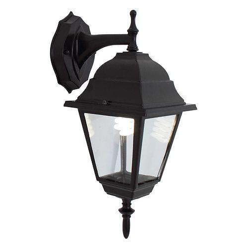Lantern 4 Panel D/Facing Black
