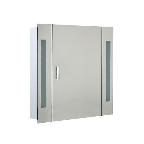 Bathroom Mirror W/Light 650mm White