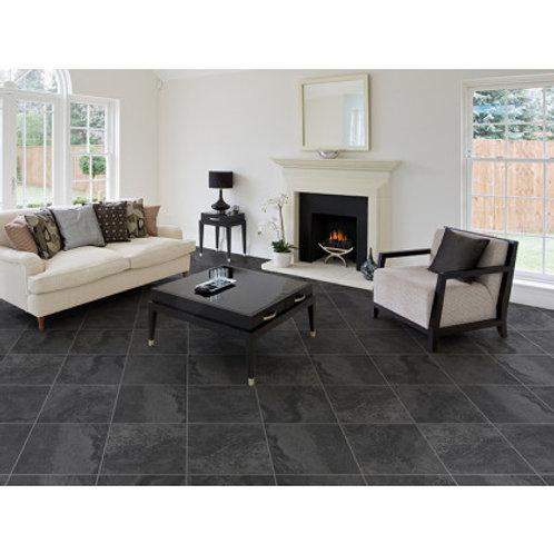 350 x 350 Mabula Charcoal Floor Tile per m2