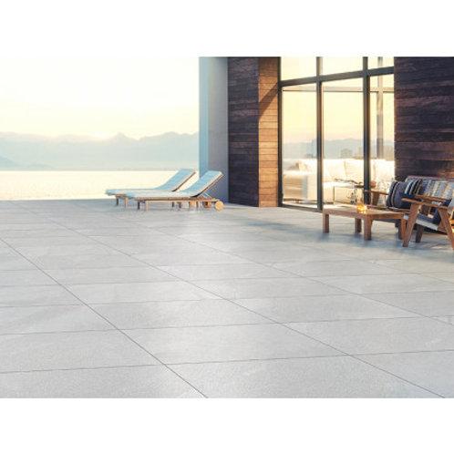 450 x 900 Lakestone White Slip Resistant per m2