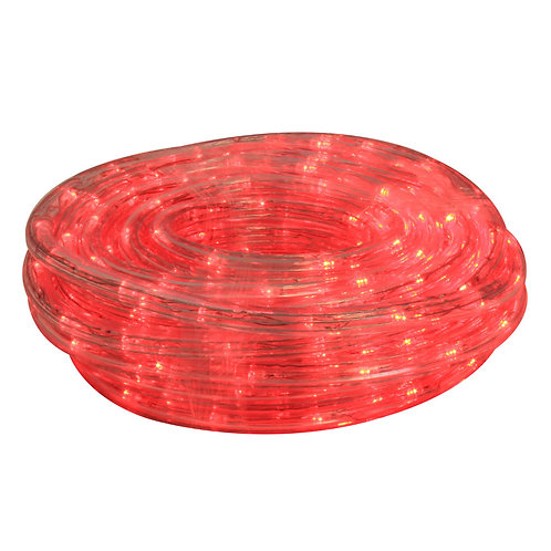 ROPE LIGHT 10m LED RED 8 FUNCT CONTROL