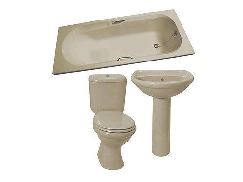 Bathroom Set Almond