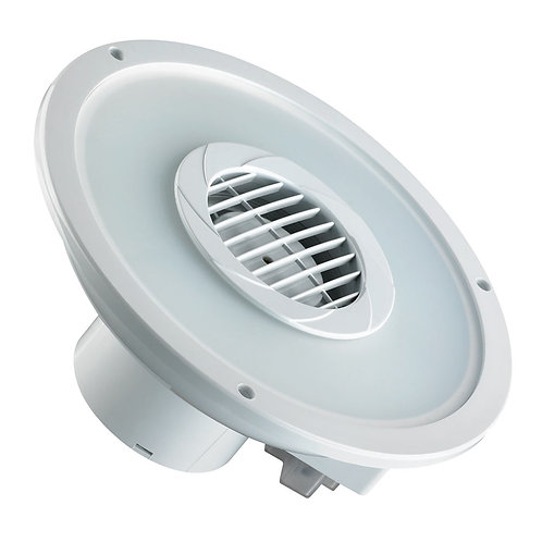 LED Extractor Round Fan 260mm White