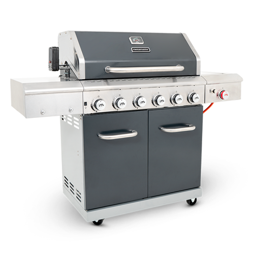 Apex Series 6 Burner Patio Gas Braai (with ceramic searing side burner)