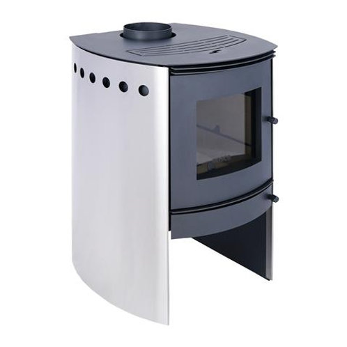 Bosca Spirit 380 Stainless Steel Closed Combustion Fireplace
