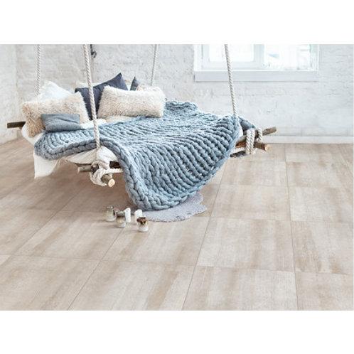 600 x 600 Concreta Wood Ivory Floor Tile per m2