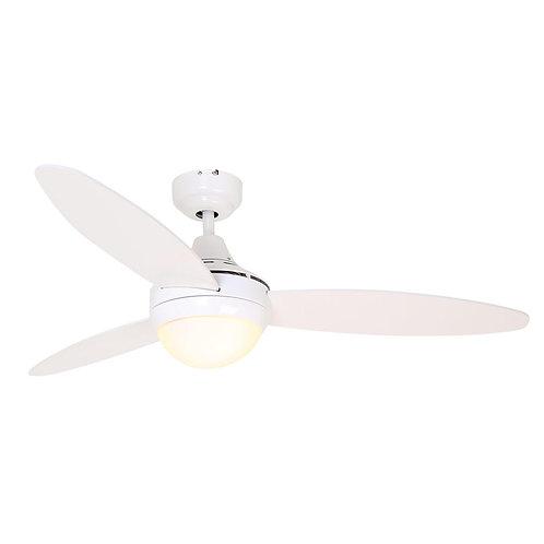 Swirl Ceiling Fan 3 Blades White
