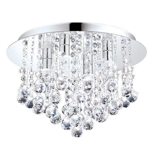 LED Almonte C/Light 350mm Chrome