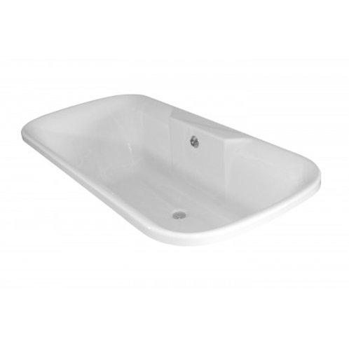 Bath Vogue 1700 Drop in White