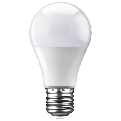 LED A60 E27 9w Day Light 6500k Globe Opal