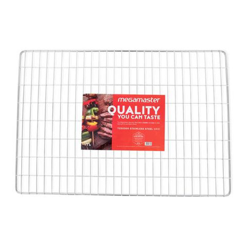 Megamaster 725 x 500 Stainless Steel Grid