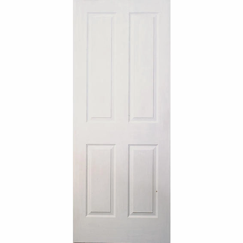 Interior Door White 4 Panel