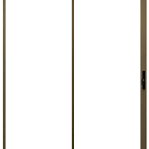 Aluminium Sliding Door Bronze 2990 x 2090