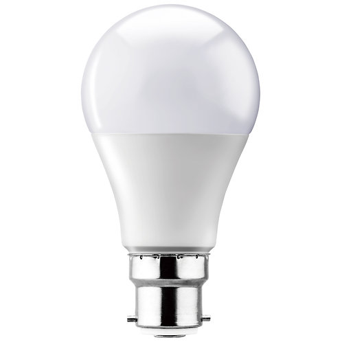 LED A60 Globe Opal B22 15w Warm White
