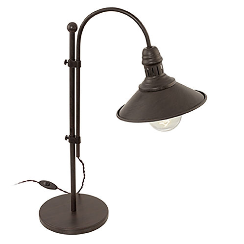 Stockbury Table Lamp Antique Brown