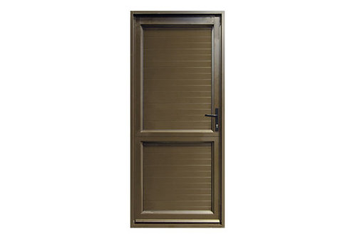 Solid Aluminium Entrance Door