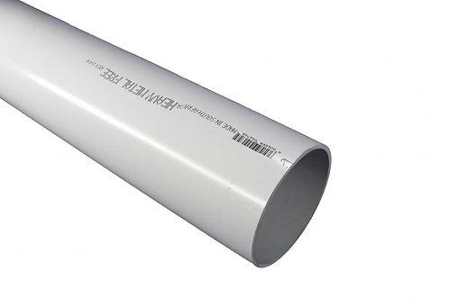 PIPE PVC 110MM X 6.0M SABS WHITE