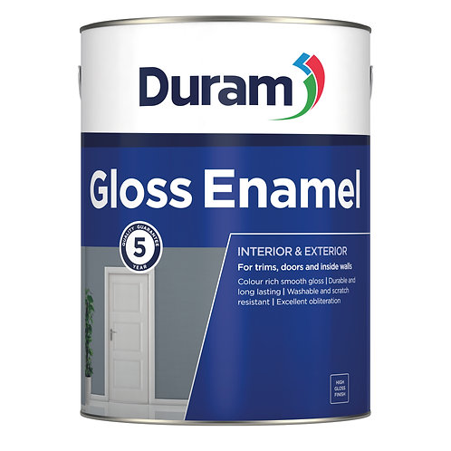 DURAM GLOSS ENAMEL 1LT - GOLDEN BROWN