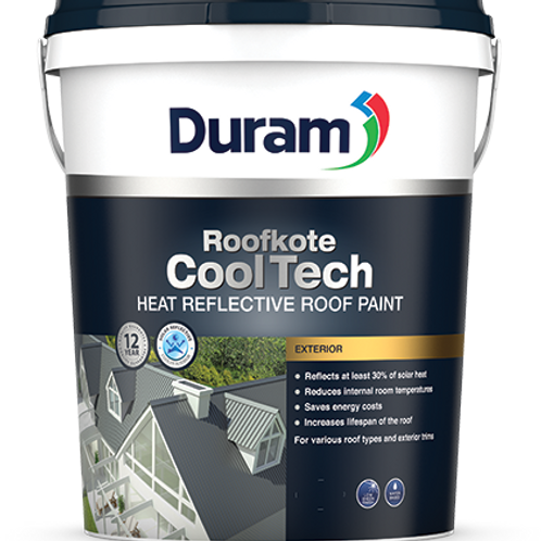 DURAM ROOFKOTE COOLTECH 20LT -  BURNT CLAY