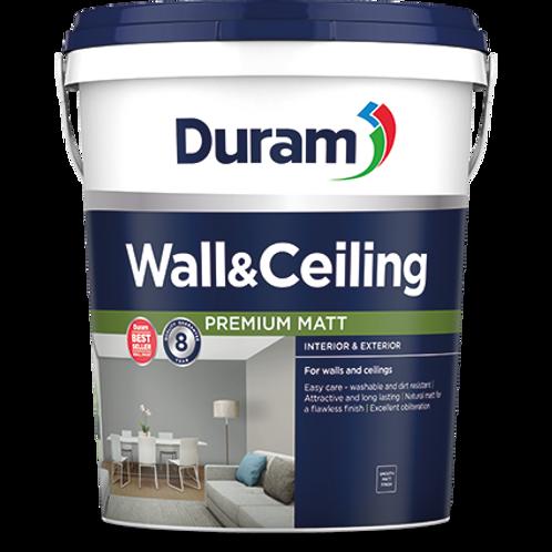 DURAM WALL & CEILING 20LT - PEWTER  NEW