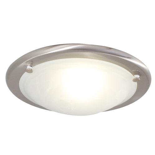 Roma Alabaster C/Light 310mm S/Chrome