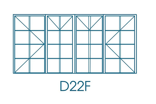 Window Frame Steel D22 F7